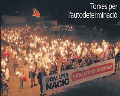 TORXES PER L'AUTODETERMINACIÓ