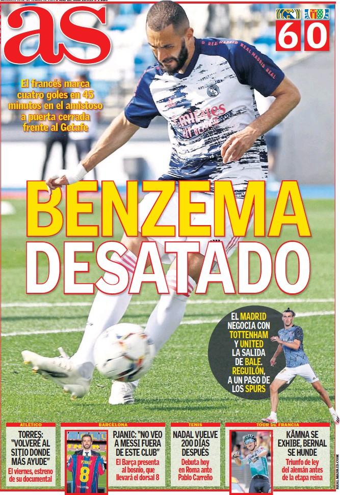 BENZEMA DESATADO