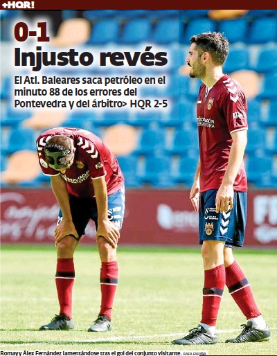 0-1 INJUSTO REVÉS