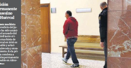 PRISIÓN PERMANENTE AL ASESINO DE HUÉRCAL