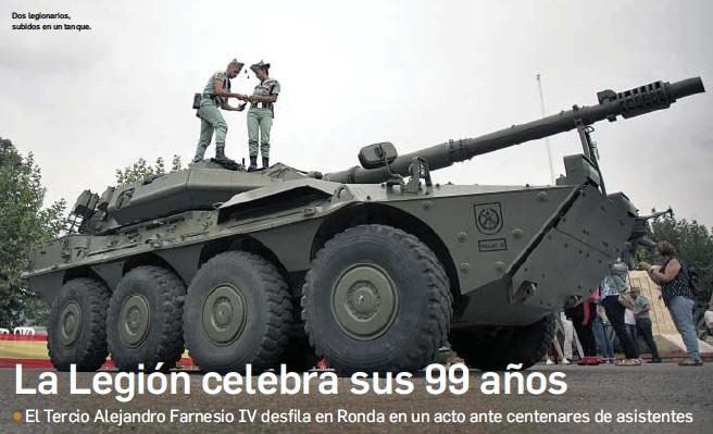 LA LEGIÓN CELEBRA SUS 99 AÑOS
