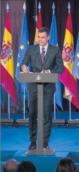 SÁNCHEZ TRATA DE QUE EUROPA SE CONVIERTA EN CUESTIÓN DE CAMPAÑA