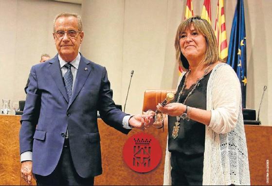 JXCAT S'ALLUNYA D'ERC I VOTA NÚRIA MARÍN