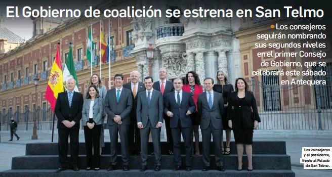 EL GOBIERNO DE COALICIÓN SE ESTRENA EN SAN TELMO