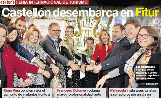 CASTELLÓN DESEMBARCA EN FITUR