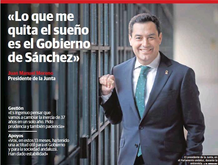 «LO QUE ME QUITA EL SUEÑO ES EL GOBIERNO DE SÁNCHEZ»