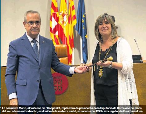 EL PSC OBTÉ LA DIPUTACIÓ AMB AJUDA DE JXCAT