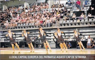 LLEIDA, CAPITAL EUROPEA DEL PATINATGE AQUEST CAP DE SETMANA