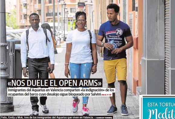 «NOS DUELE EL OPEN ARMS»