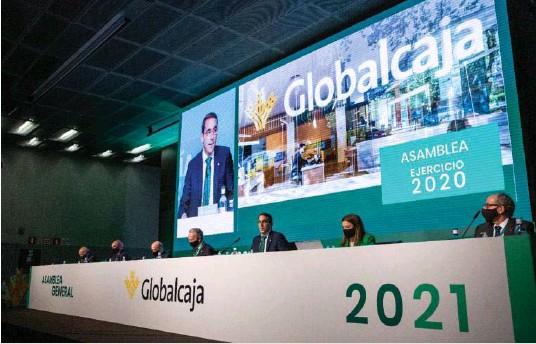 GLOBALCAJA LOGRA 35,8 MILLONES DE BENEFICIO
