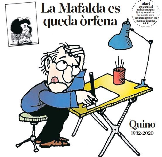 LA MAFALDA ES QUEDA ÒRFENA
