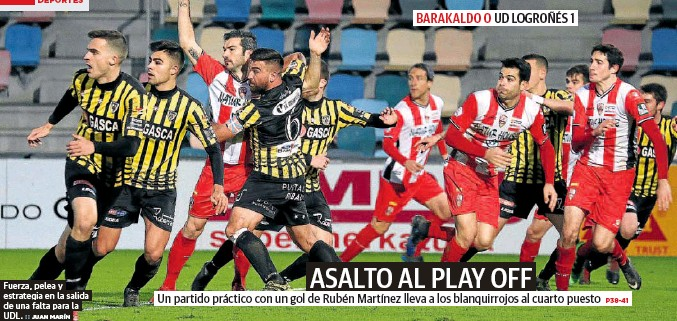 ASALTO AL PLAY OFF