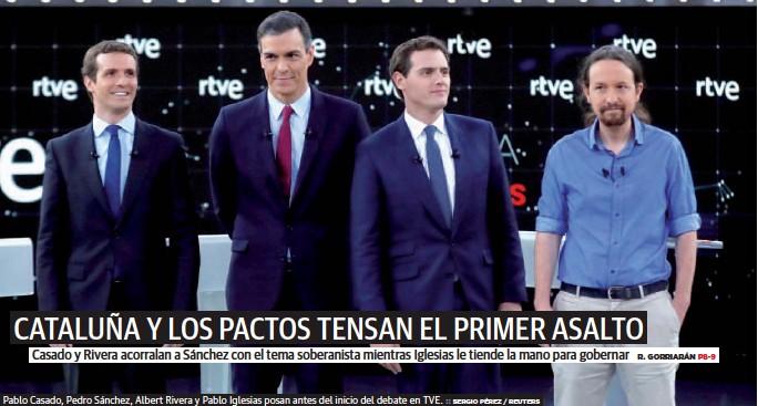CATALUÑA Y LOS PACTOS TENSAN EL PRIMER ASALTO