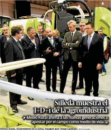 SILLEDA MUESTRA EL I+D+I DE LA AGROINDUSTRIA