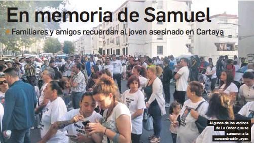 EN MEMORIA DE SAMUEL
