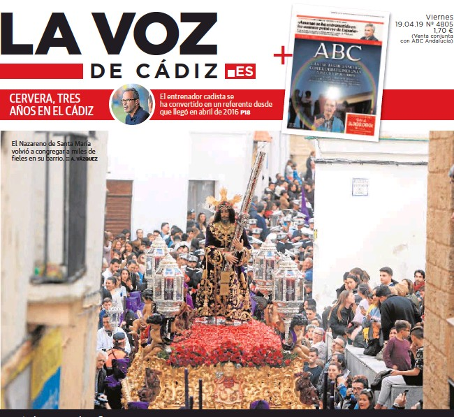 CERVERA, TRES AÑOS EN EL CÁDIZ