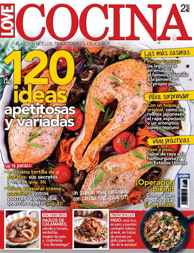 120 + DE IDEAS APETITOSAS Y VARIADAS