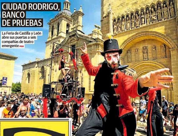 CIUDAD RODRIGO, BANCO DE PRUEBAS