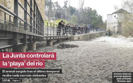 LA JUNTA CONTROLARÁ LA 'PLAYA' DEL RÍO