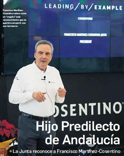 HIJO PREDILECTO DE ANDALUCÍA