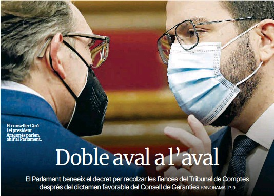 DOBLE AVAL A L'AVAL