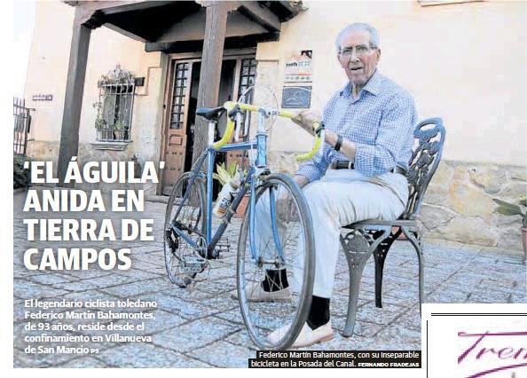 'EL ÁGUILA' ANIDA EN TIERRA DE CAMPOS