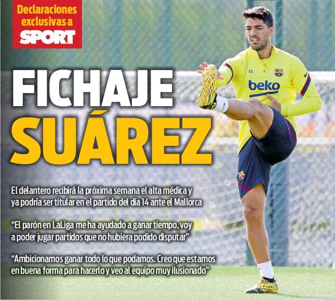 FICHAJE SUÁREZ