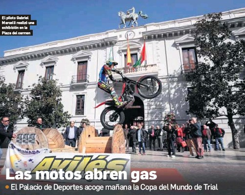 LAS MOTOS ABREN GAS