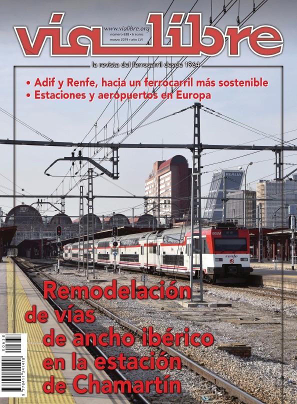 REMODELACIÓN DE VÍAS DE ANCHO IBÉRICO EN A ESTACIÓN DE CHAMERTIN