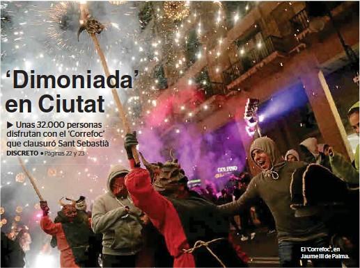 'DIMONIADA' EN CIUTAT
