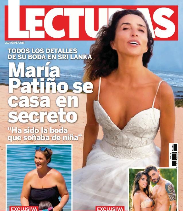 MARÍA PATIÑO SE CASA EN SECRETO