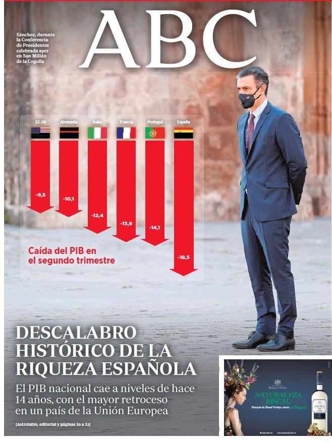 DESCALABRO HISTÓRICO DE LA RIQUEZA ESPAÑOLA