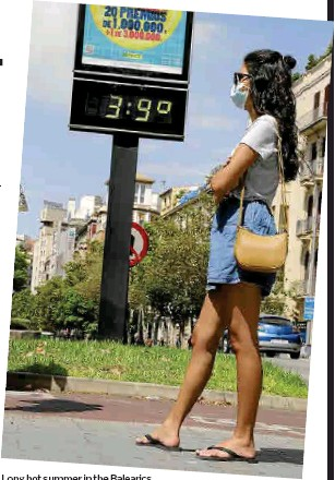 SPAIN LOGGED HOTTEST YEAR ON RECORD IN 2020