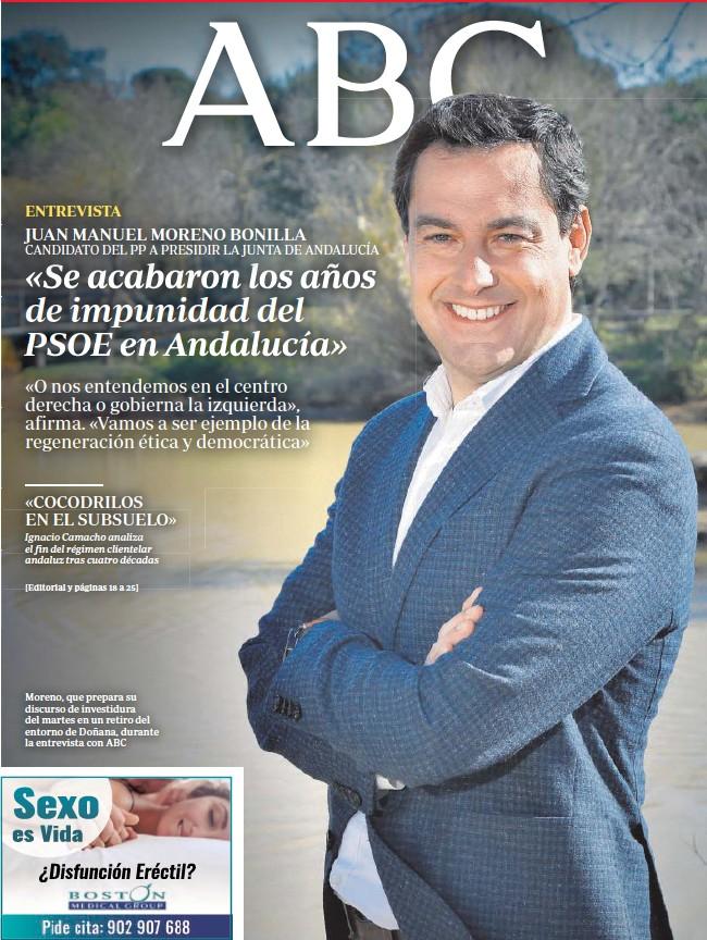 «SE ACABARON LOS AÑOS DE IMPUNIDAD DEL PSOE EN ANDALUCÍA»