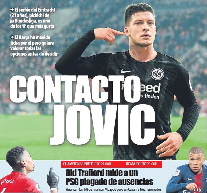 CONTACTO JOVIC