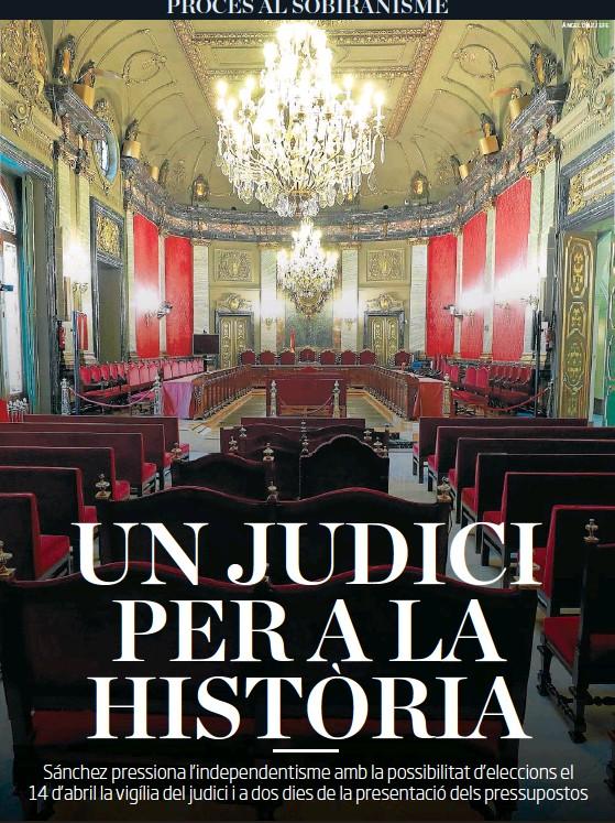 UN JUDICI PER A LA HISTORIA `