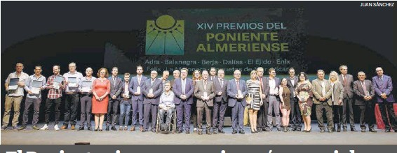 EL PONIENTE VIVE SUS PREMIOS MÁS ESPECIALES