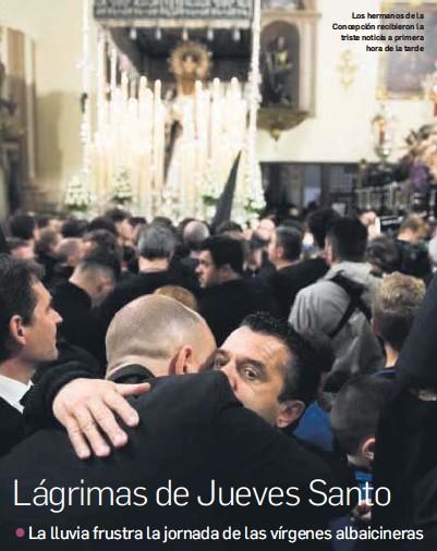 LÁGRIMAS DE JUEVES SANTO