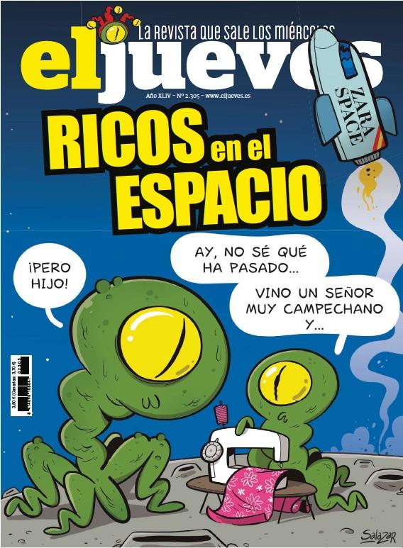 RICOS EN EL ESPACIO