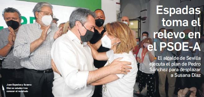 ESPADAS TOMA EL RELEVO EN EL PSOE-A
