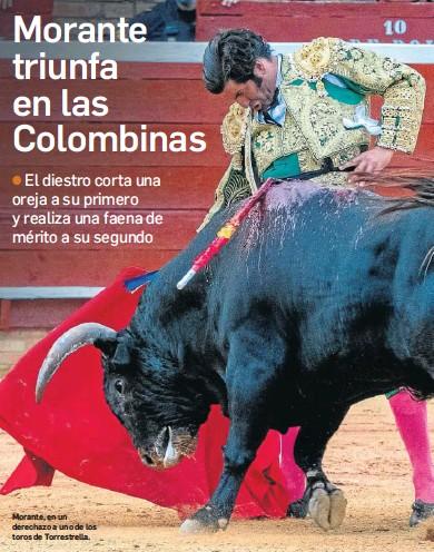 MORANTE TRIUNFA EN LAS COLOMBINAS