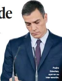 SÁNCHEZ CONVOCA EL 28 DE ABRIL PARA RESOLVER UNA DURA PUGNA ELECTORAL