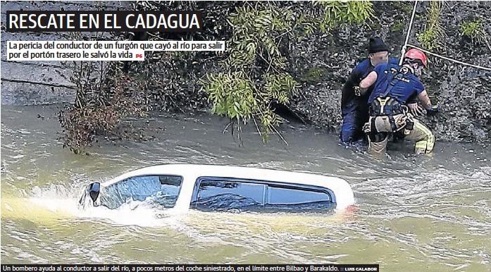RESCATE EN EL CADAGUA