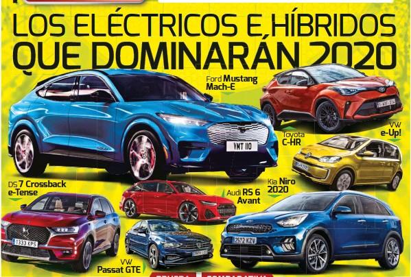LOS ELÉCTRICOS E HÍBRIDOS QUE DOMINARÁN 2020