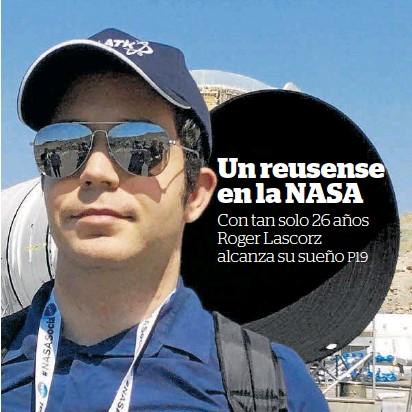UN REUSENSE EN LA NASA