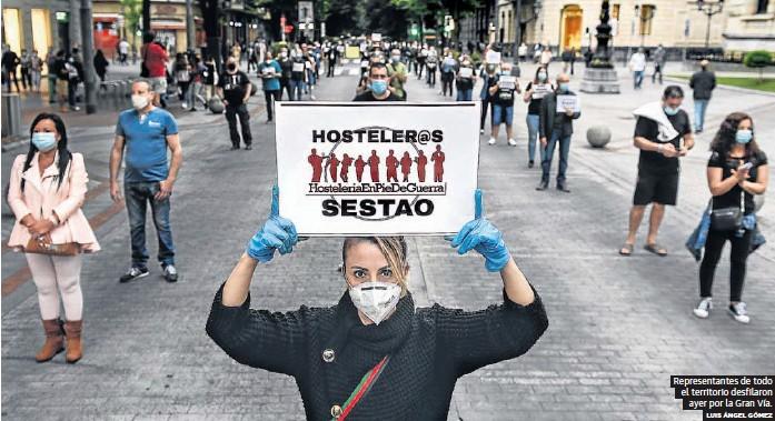 DESESPERADO SOS DE LOS HOSTELEROS