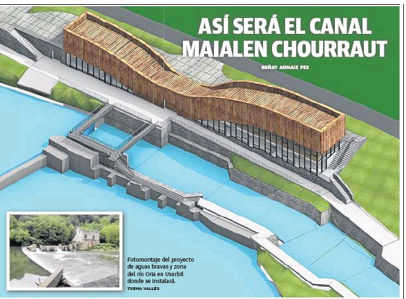 ASÍ SERÁ EL CANAL MAIALEN CHOURRAUT