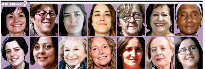 VOCES EN FEMENINO PLURAL PARA REIVINDICAR LA IGUALDAD