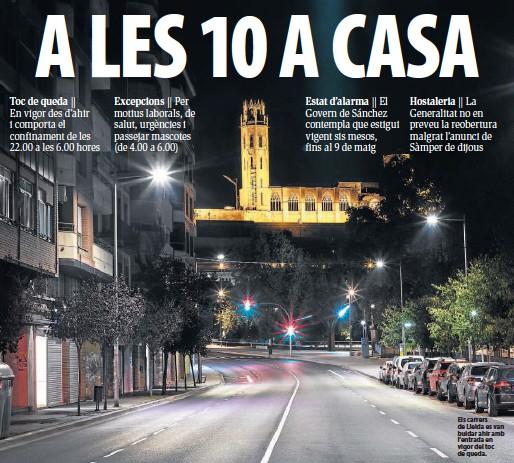 EL RISC DE REBROT DE COVID CREIX PERÒ ÉS EL MÉS BAIX DE TOT CATALUNYA