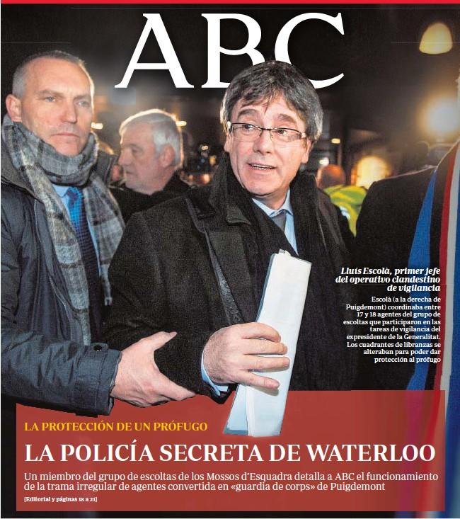 LA POLICÍA SECRETA DE WATERLOO